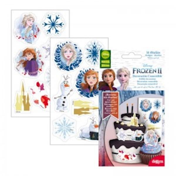 Βρώσιμα Διακοσμητικά Frozen 2 (14 Σχέδια)