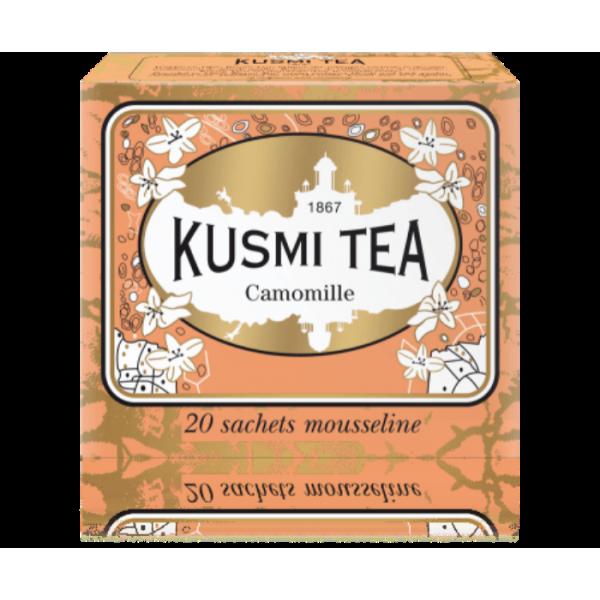 KUSMI TEA CAMOMILLE INFUSION TEA 20BAGS