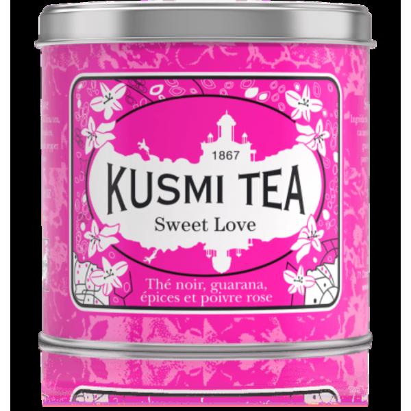 KUSMI TEA SWEET LOVE WELNESS TEA 250GR (LOVE250)