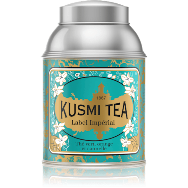 KUSMI TEA LABEL IMPERIAL GREEN TEA VRAC 1KG