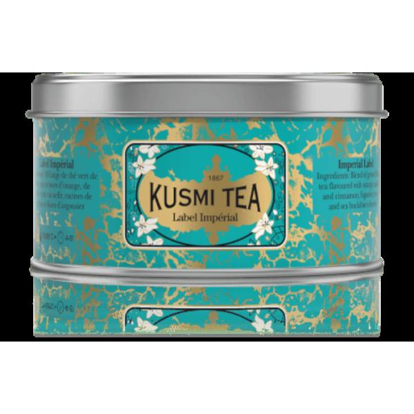 KUSMI TEA GREEN TEA IMPERIAL LABEL 125GR (LABE125)