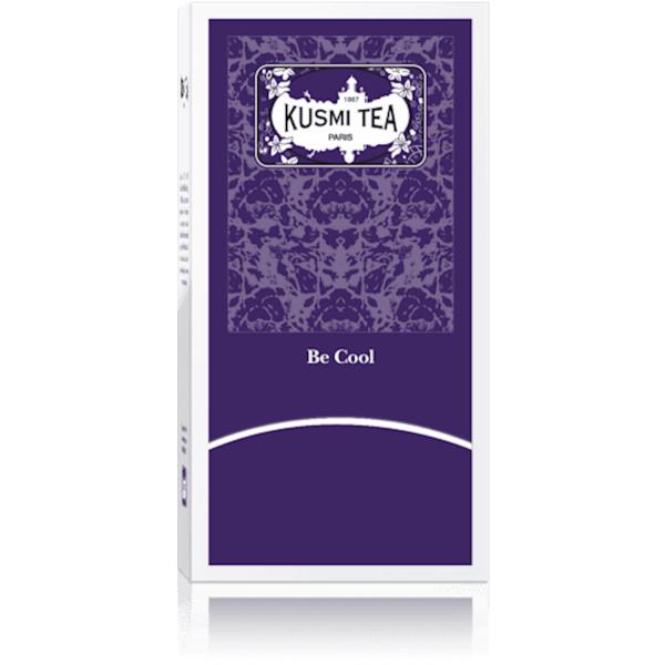 KUSMI TEA BE COOL WELLNESS TEA 50 BAGS