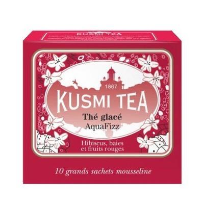 KUSMI TEA AQUA FIZZ ICE TEA 10 BAGS (AQUA10S)