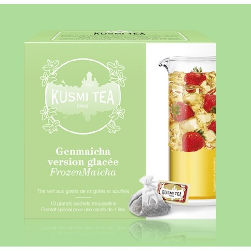 KUSMI TEA MAICHA ICE TEA 10 BAGS (VGEN10S)